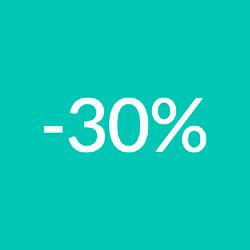 ЗНИЖКА -30% НА ДЕНЬ БОРОТЬБИ З РАКОМ МОЛОЧНОЇ ЗАЛОЗИ